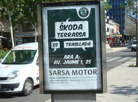 Opi Skoda Terrassa
